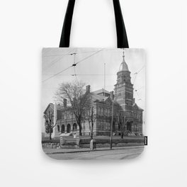 The Knox County Courthouse in Knoxville, Tennessee Tote Bag