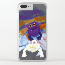 Trinity taylor and Alexis michelle dragemons Clear iPhone Case