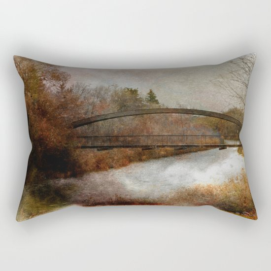 An Autumn Day Rectangular Pillow