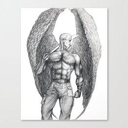 Donovan Angel Canvas Print
