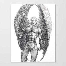 Donovan Angel Canvas Print