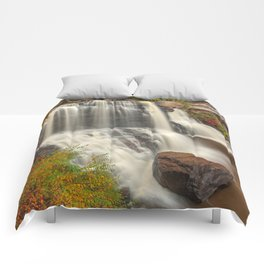 Blackwater Autumn Falls Comforters