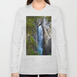 Stanley Waterfall & Beauty Creek, Jasper National Park Long Sleeve T-shirt