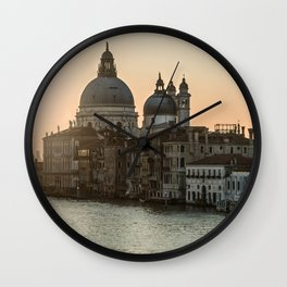 Sunrise over Venice Wall Clock