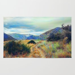 Fall nature landscape photography Rug