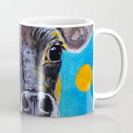 Moon: The Eyes of a Jersey Cow Coffee Mug