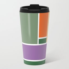 Tribute to Mondrian Travel Mug