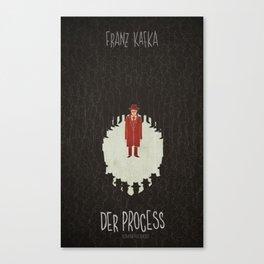 Franz Kafka - Der Process Canvas Print