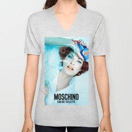 Linda Evangelista Moschino Fresh Unisex V-Neck