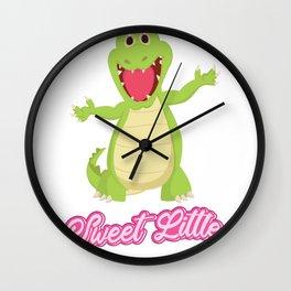 Sweet Little Juve-crocodile Sweet Child Gift Wall Clock