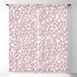 Two Toned Classic Gingerbread Pattern Blackout Curtain