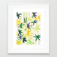 bamboo Framed Art Prints featuring Bamboo by Federico Faggion