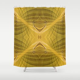 HOSTA MATES OVERLAY DESIGN Shower Curtain