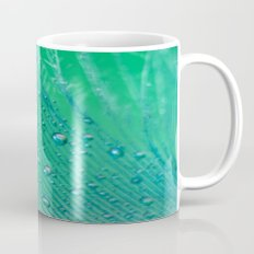 Emerald Feather Mug