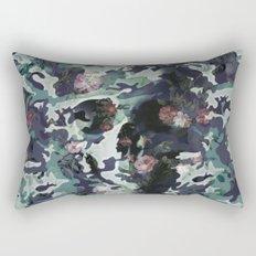 Camouflage Skull V2 Rectangular Pillow