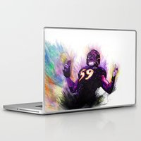 nfl Laptop & iPad Skins featuring 10 Point Underdogs - Ellerbeast by JsR_OtR
