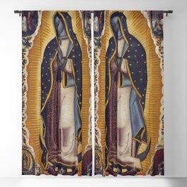 """Manuel de Arellano, Antonio de Arellano """"Virgin of Guadalupe (La Virgen de Guadalupe)""""(1691) Blackout Curtain"""