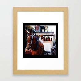 New Orleans Buggy Framed Art Print