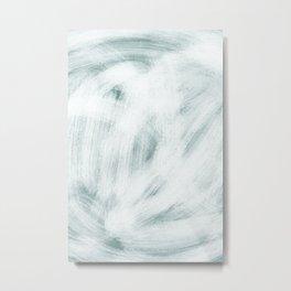 CRAZINESS - blue palette Metal Print