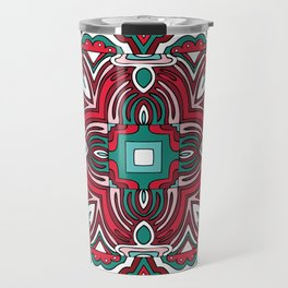 Pattern 12 from NUVEAU: The Future of Patterns Coloring Book Travel Mug