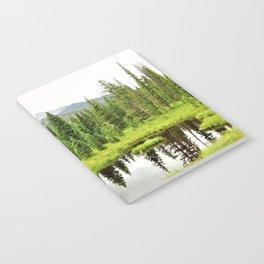 Rocky Mountain Beaver Pond by Reay of Light Notebook