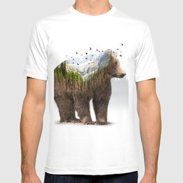 Wild I Shall Stay | Bear T-shirt