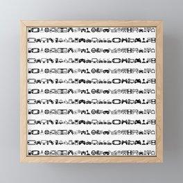 Video Games White Framed Mini Art Print