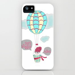 Adieu iPhone Case