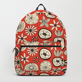 summer flowers fire Backpack