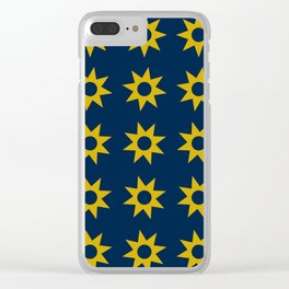 Tiny Suns Clear iPhone Case