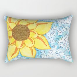 Sunflower Rectangular Pillow