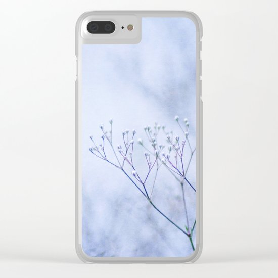 purple fever Clear iPhone Case