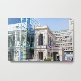 Roumania, Novotel Bucharest City Centre Metal Print