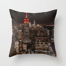 New York NY Throw Pillow