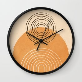 Water Abstract Flow 3 Wall Clock