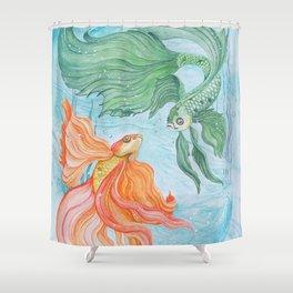 Betta Dance Shower Curtain