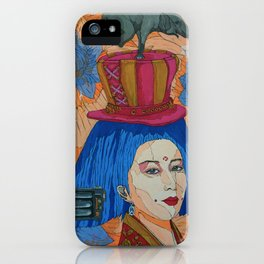 heavy in my mind iPhone Case