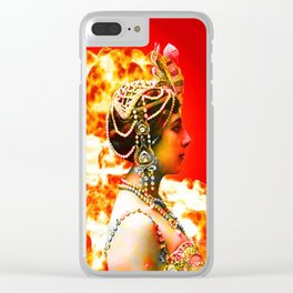 Mata Hari Clear iPhone Case