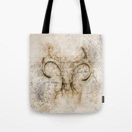 Skulled Oddity Tote Bag