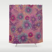 fifth harmony Shower Curtains featuring Harmony by rskinner1122