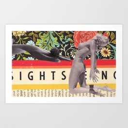Sightseeing Art Print