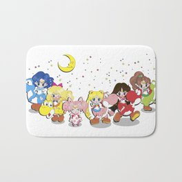 Crossover Sailor moon And Yoshi's Island Bath Mat