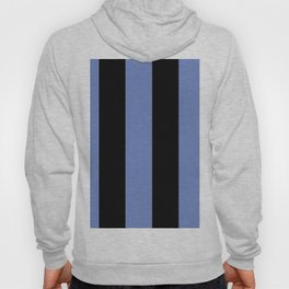 5th Avenue Stripe No. 4 in Lapis and Black Onyx Hoody