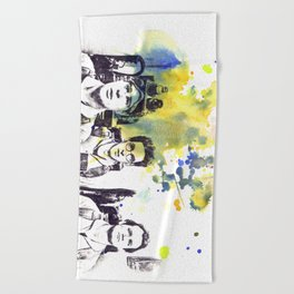 Ghostbusters Peter Venkman, Egon Spengler, Raymond Stantz Beach Towel