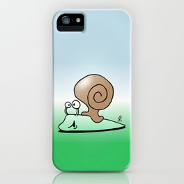 Snail iPhone Case
