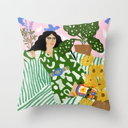 You Left Me Waiting Throw Pillow