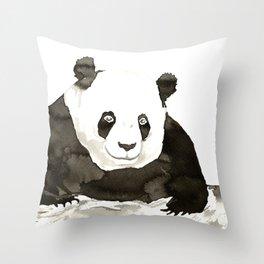 Giant Panda Throw Pillow