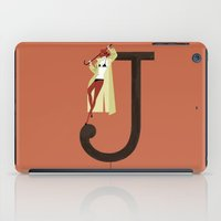 archer iPad Cases featuring Jenny & Archer by ChicksAndType