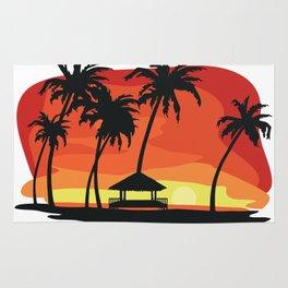 Maldives Sunset Rug