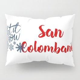 San Colombano and Winter Sports Pillow Sham